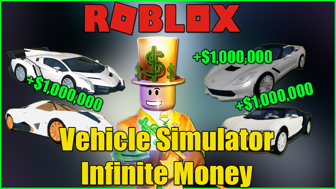 How To Get Unlimited Money In Vehicle Simulator Roblox لم يسبق له